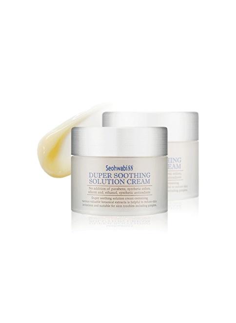 Seohwabi Duper Soothing Cream - Nemlendirici Ve Dinlendirici Aloe Vera Krem Renksiz